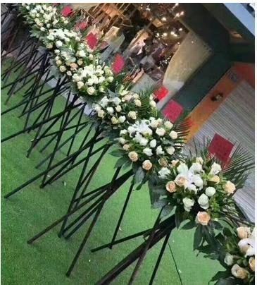 承德县板城大街杨树林中心广场万荣广场鲜花店速递开业花篮开张