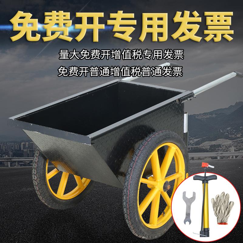 浩天加厚劳动车手推车灰斗车环卫工地车建筑车工程水泥车家用包邮