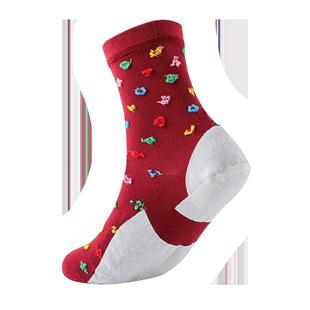 5双装 佑奇脚裂袜防裂袜子防干裂袜足裂袜子男女厚棉全脚型全足型