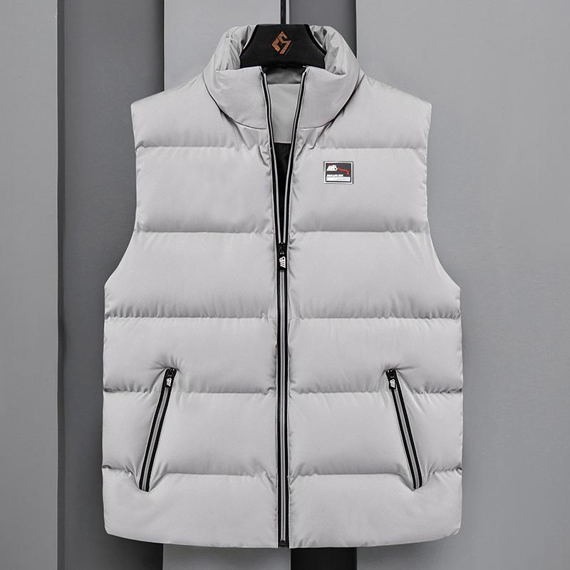 秋冬季韩版潮流男士羽绒棉冬装马甲用后评测