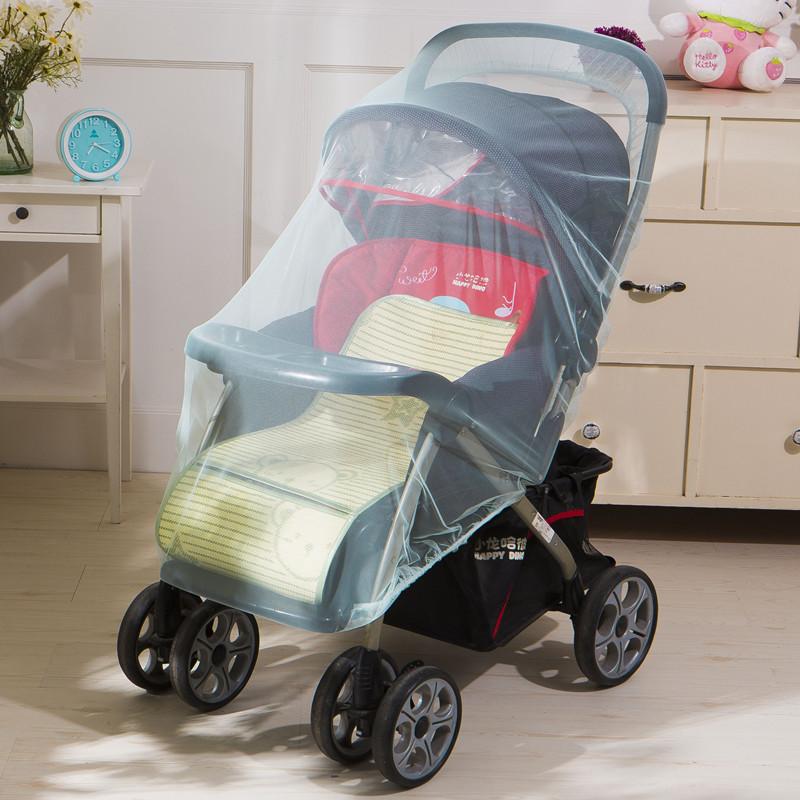 兒童手推車蚊帳全罩通用 嬰兒傘車蚊帳罩加密寶寶高景觀推車蚊帳
