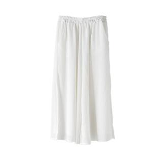 夏季百搭禪意女褲雙層中式闊腿褲仙氣文藝範禪舞服茶服瑜伽打坐褲