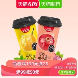 生和堂果冻蔓越莓百香果吸吸龟苓膏230gx2杯布丁椰果糖果网红零食图片