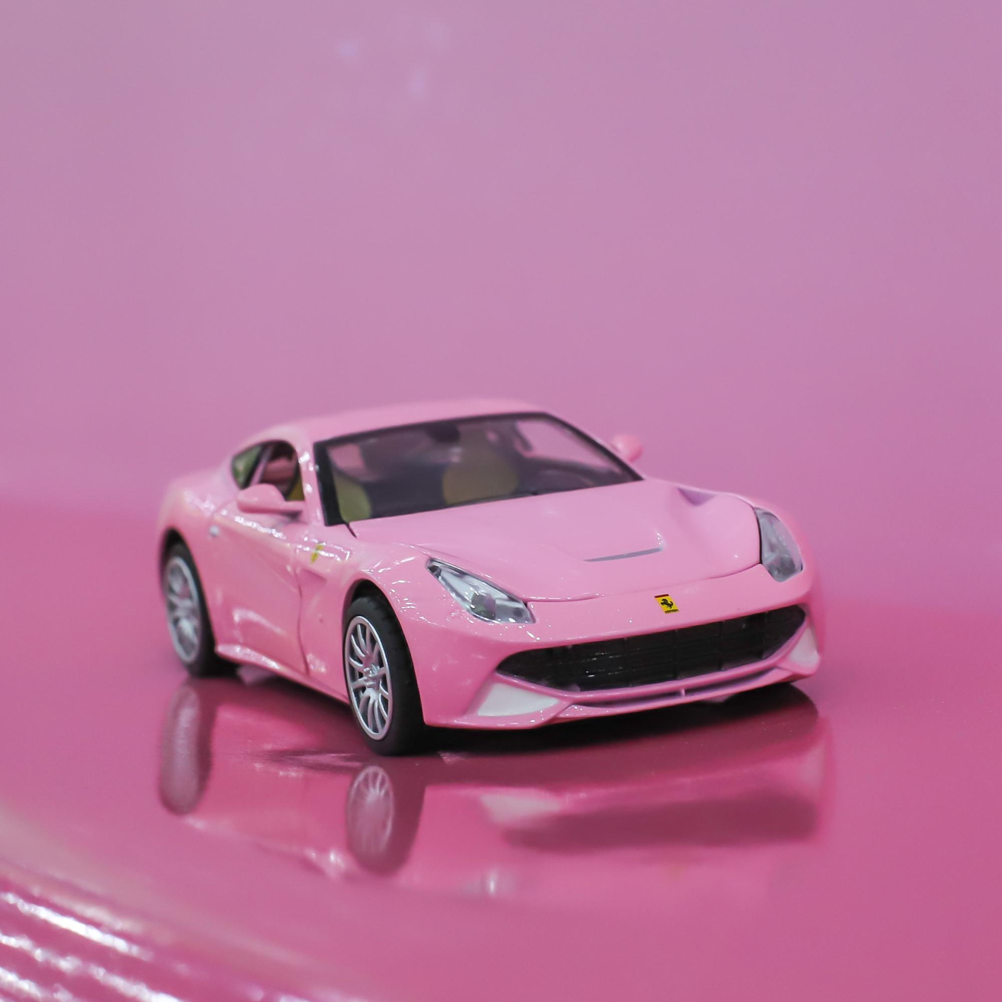 1:32仿真法拉利F12合金跑车汽车模型男孩音乐灯光玩具车收藏礼物