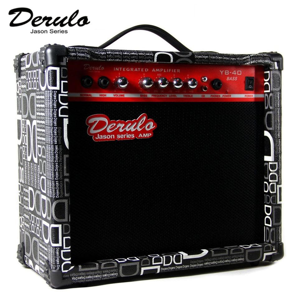 Электричество бас динамик баллада гитара динамик бас динамик 40w большой коробка континентальный штекер двойной вводить