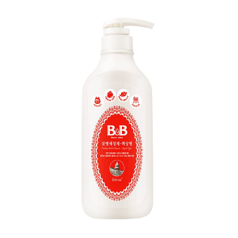 保寧韓國嬰幼兒奶瓶奶嘴液體型瓶裝清潔劑清洗劑600ml 母嬰