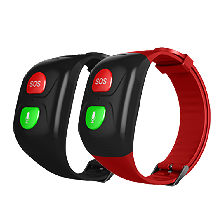 New GPS positioning Bracelet tracker for the elderly intelligent waterproof phone watch to prevent losing heart rate and blood pressure Bracelet