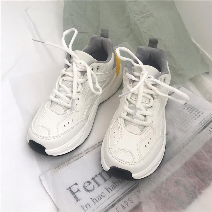 2020年新款韩版ulzzang白色运动鞋