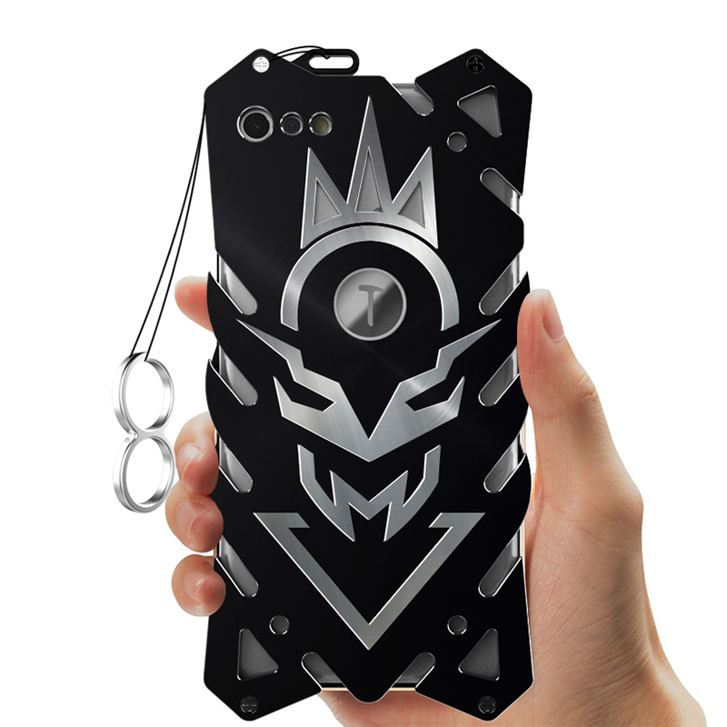 SIMON New THOR II Aviation Aluminum Alloy Shockproof Armor Metal Case Cover for Smartisan Nut Pro 2