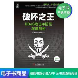 电子书 破坏之王:DDoS攻击与防范深度剖析