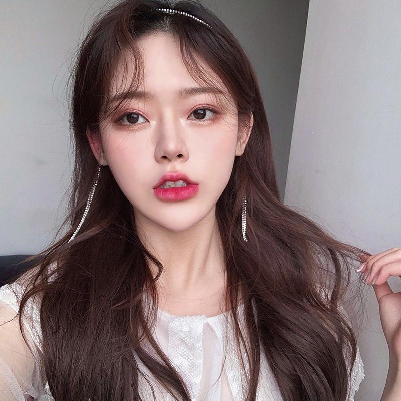 迪丽热巴同款闪亮水钻流苏发箍女百搭外出超仙头箍韩国甜美发饰品图片