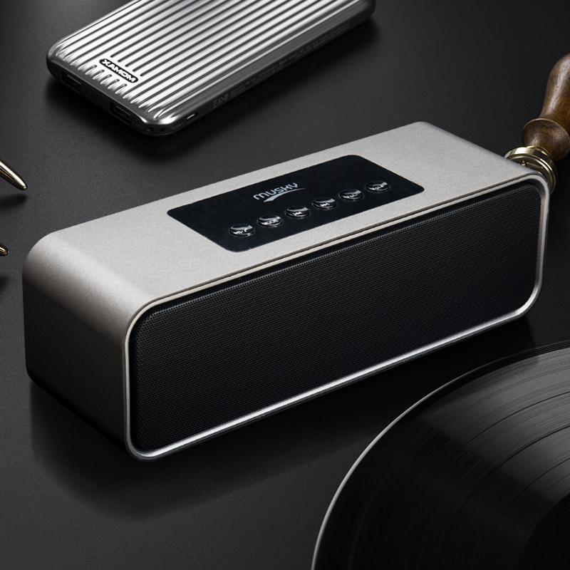 德国HIFI无线蓝牙音箱手机闹钟收音机车载电脑重低音炮插卡小音响淘宝优惠券