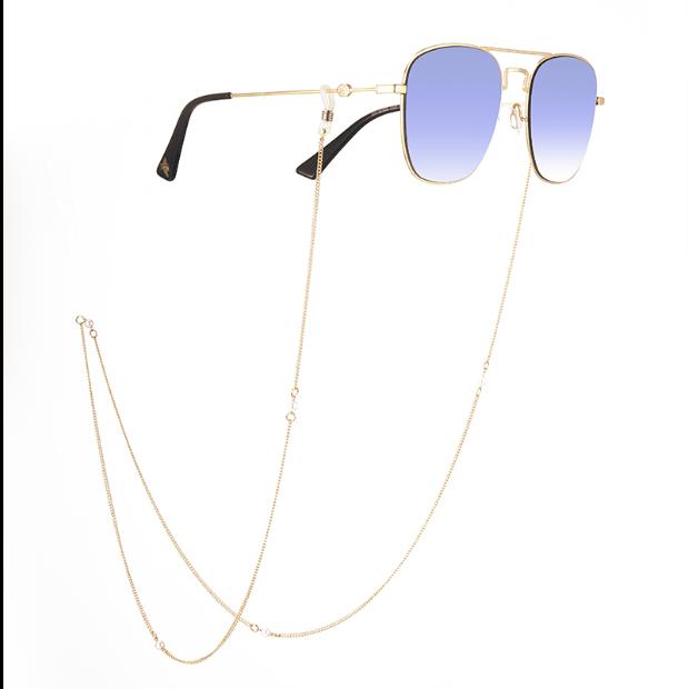 眼镜链挂绳时尚挂脖链条眼镜配件防滑链 复古洛丽塔珍珠链子绳子