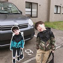 春秋装新款韩版洋气秋季儿童装大童中长款小立领外套2019女童风衣