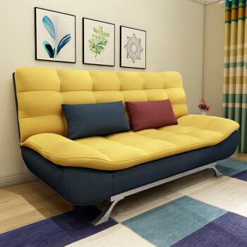 折叠沙发床客厅小户型双人1.8米两用多功能简约现代布艺可拆洗1.5