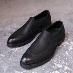 布洛克雕花英伦男鞋时尚低帮鞋 Y99021/P225