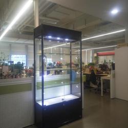 杭州现货玻璃展柜珠宝展示柜样品柜手办模型展示柜奖牌奖杯陈列柜
