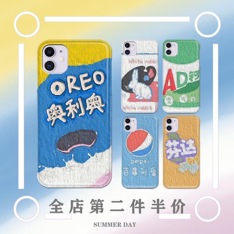 奥利奥魅族16spro/17/17pro/16th魅蓝s6/note9创意手机壳硅胶全包图片