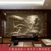 定制砂巖浮雕沙巖人造石雕塑刻玻璃鋼仿銅壁畫別墅內外裝飾背景墻