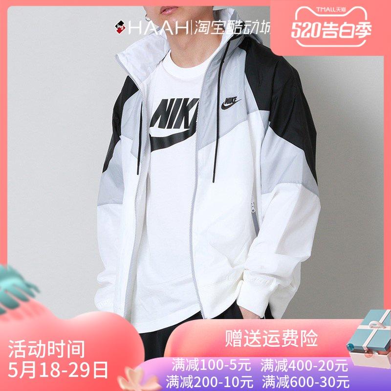 NIKE男春季运动休闲服拼接夹克大勾外套CN8771-133 AR2210 AR2192图片