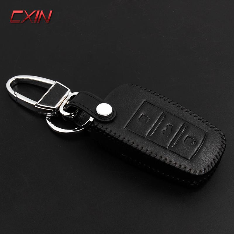 長安CS75鑰匙包 CS15鑰匙套 真皮套 CS35真皮鑰匙包 改裝