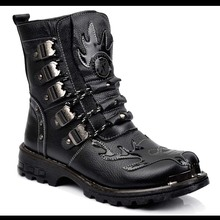 Men's boots new trend High leather boots for boots Men's boots boots boots and cowboy boots