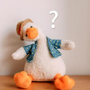丑萌玩偶可爱毛绒玩具ins超丑公仔娃娃小黄鸭子加油鸭生日礼物女