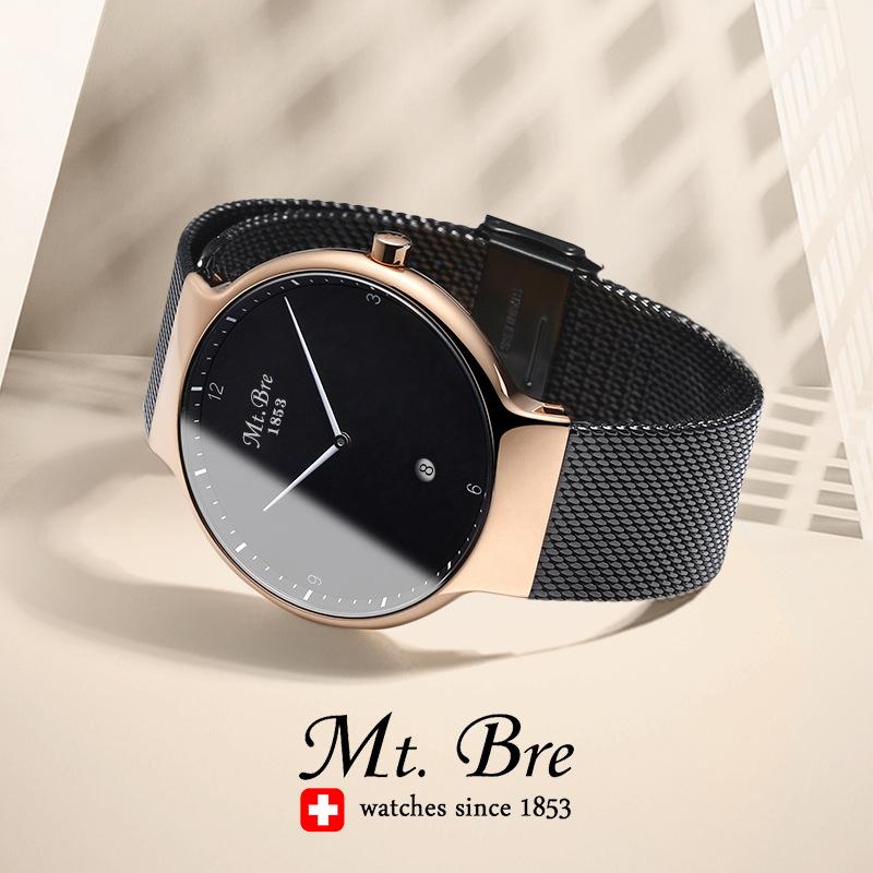 解脫者瑞士DW男士手表學生潮流簡約情侶手表全自動機械表CK女男表