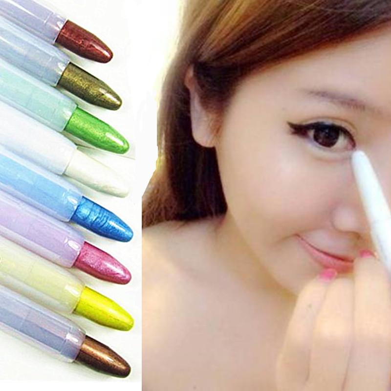韩国卧蚕笔珠光笔 彩色眼线笔开眼头眼影笔 多色可选防水包邮