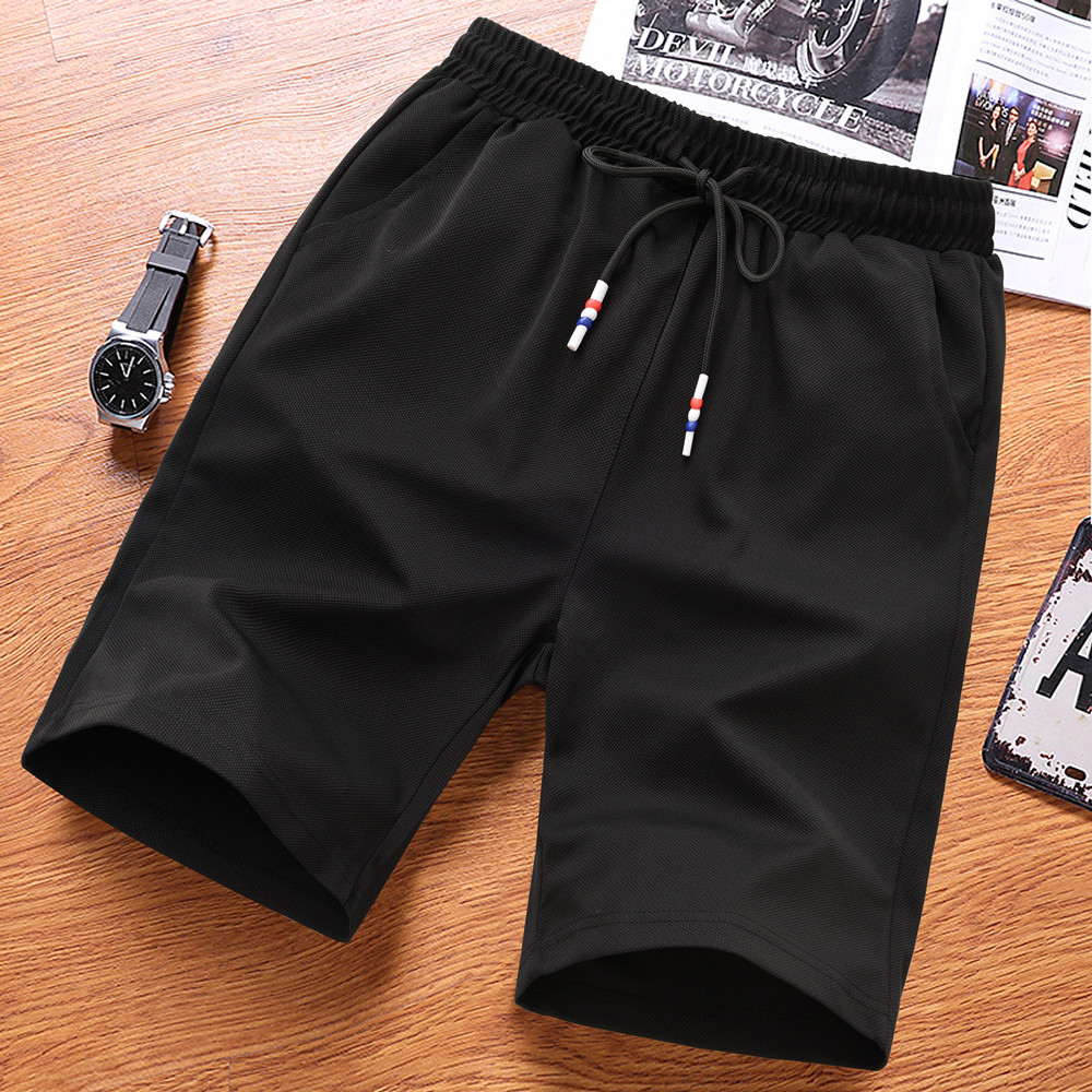 Durable and washable sports pants, breathable and sweat absorbing shorts, mens fast dry running, fitness and leisure pants, beach basketball pants