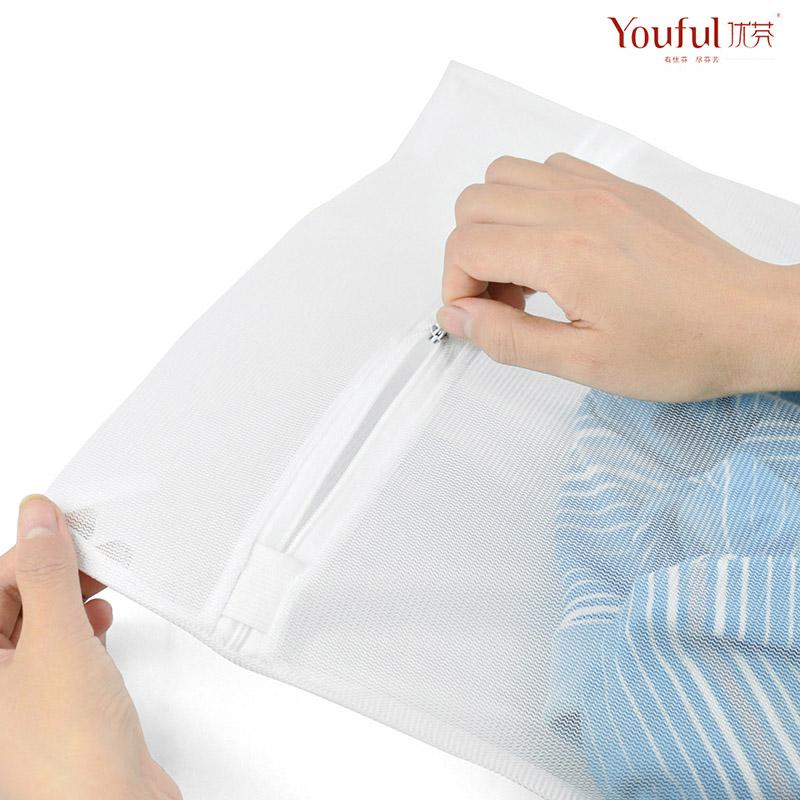 优芬衣物护洗袋内衣文胸洗护袋 洗衣袋 大号优质加密细网 清洗袋