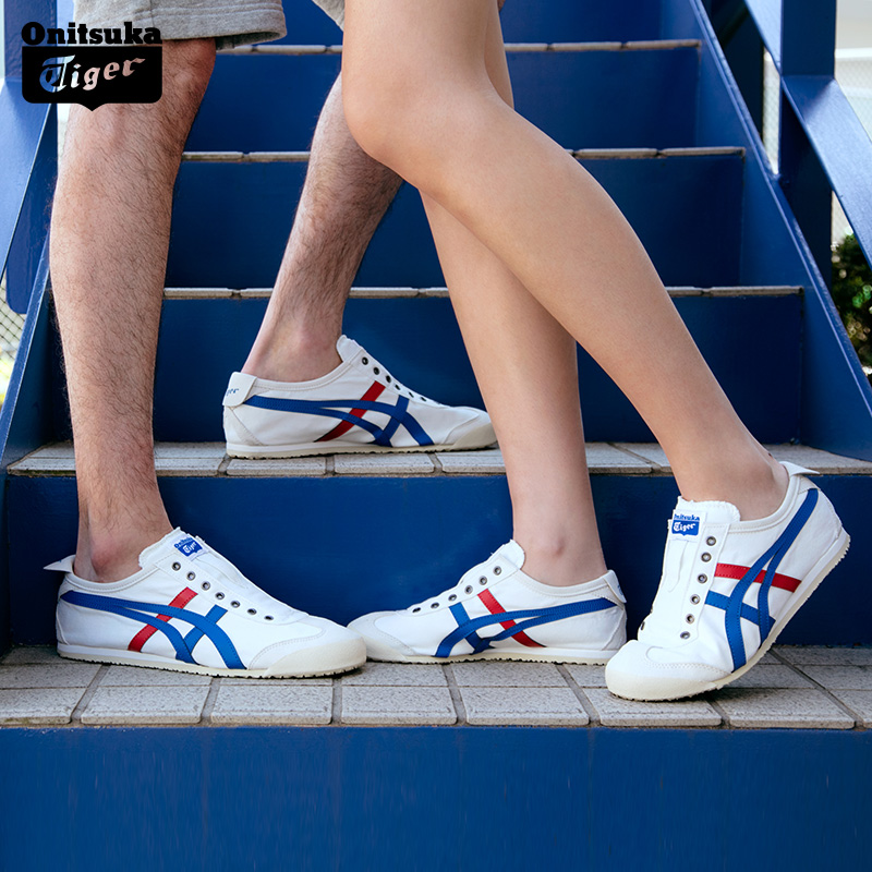 【经典】Onitsuka Tiger鬼�V虎 男女运动小白鞋 MEXICO 66 TH1B2N