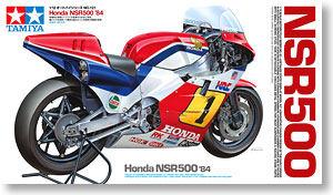 田宫拼装摩托车模型14121 1/12 本田HONDA NSR500 赛车机车