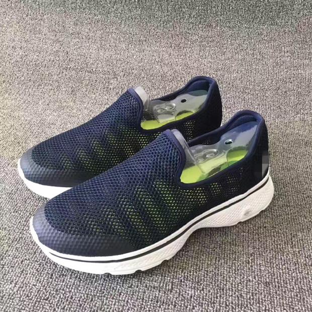 New open net mens shoes in spring and summer of 2019 light and simple walking shoes with low top lazy casual shoes