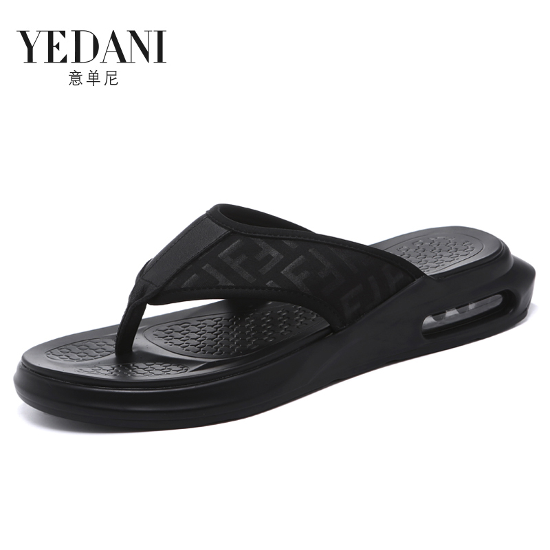Hanzi flops men's shoes 2021 new slippers summer outdoor anti-slip sandals trend wearing outdoor clamping feet