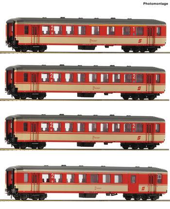 20年11月 Roco 74130 OBB 1等/2等客車 EP4