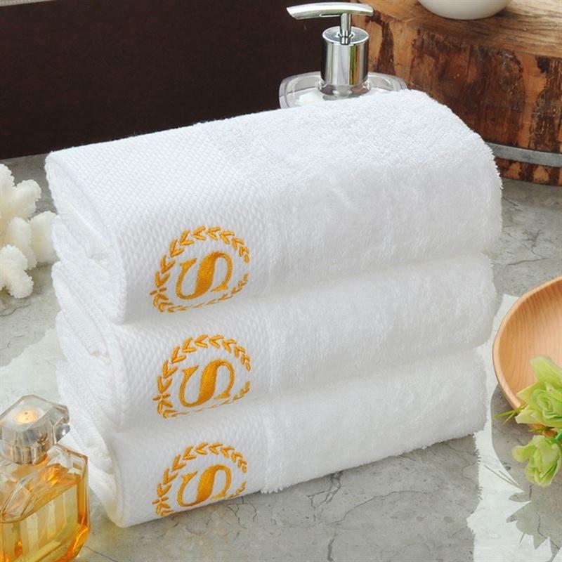 五星级酒店宾馆毛巾批發专用美容院浴巾全棉加大成人纯棉洗浴白色