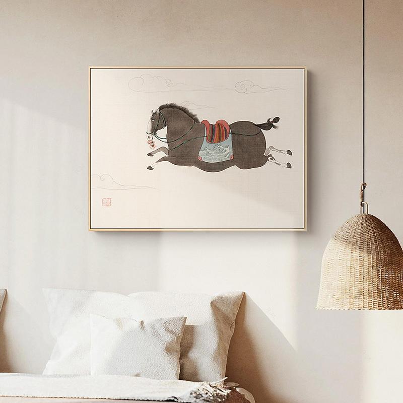 燕雷x仟象映画新中式客厅沙发挂画性价比高吗