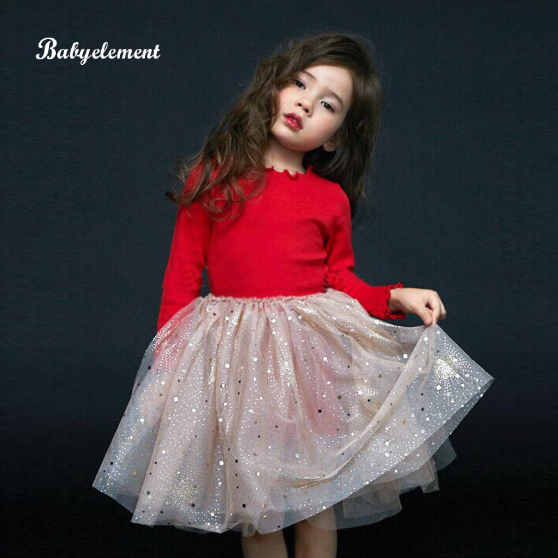 Girls dress autumn clothing 2020 new western children's clothing autumn and winter clothing 3 plus velvet 4 princess 5 skirt 6 years old dress