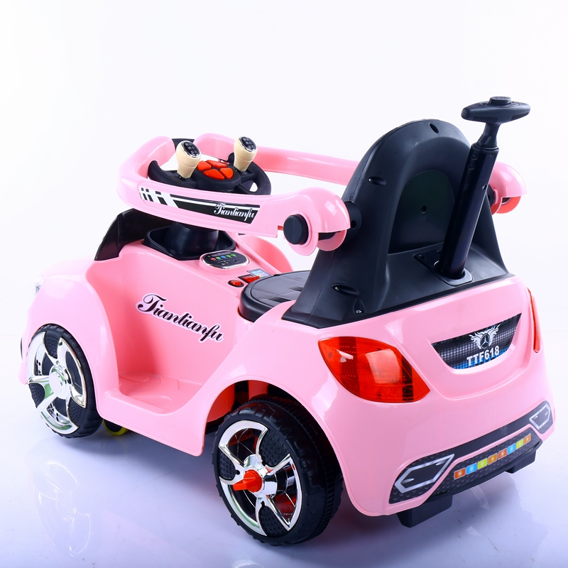 新款四轮童车小孩遥控玩具车电动车