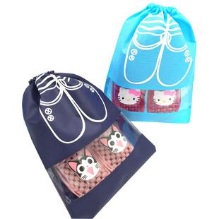 鞋子整理袋透明装旅行收纳袋子鞋包