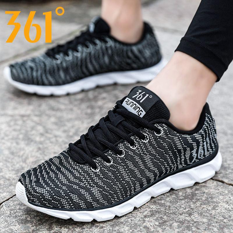 361男鞋跑步鞋秋冬男士鞋子361度轻便透气跑鞋休闲鞋运动鞋男