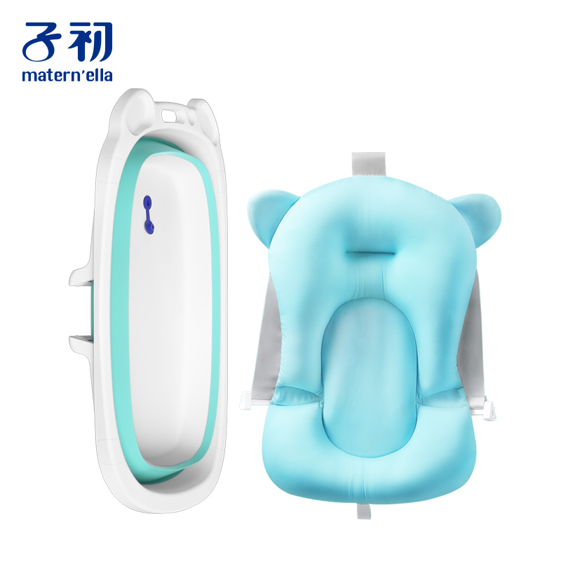 Bathtub + Bath Bed Baby Bathtub Baby Baby Supplies Shampoo Hair Recliner Newborn Child