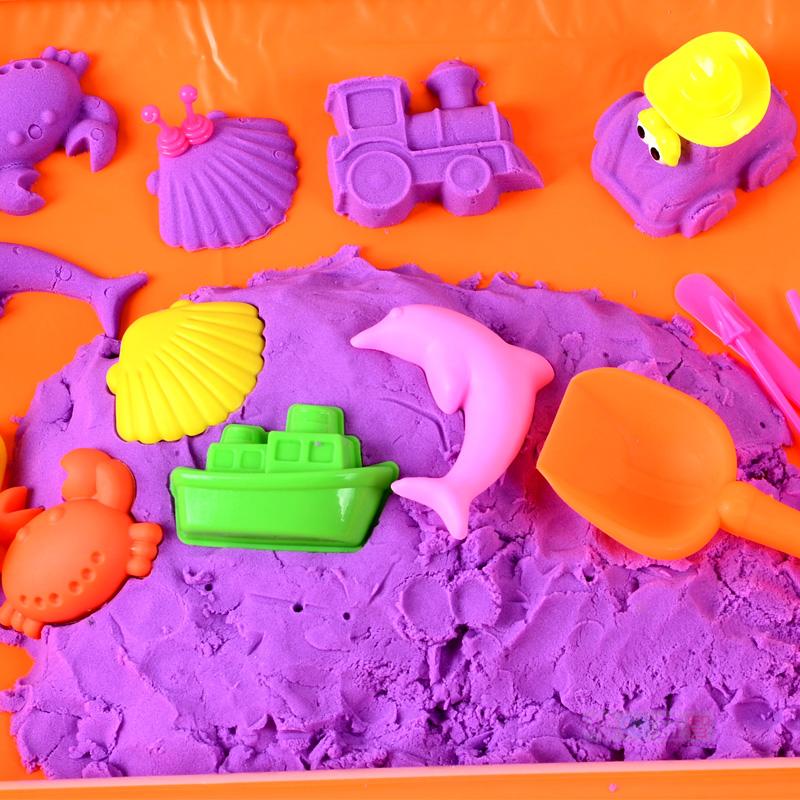 (用15.92元券)套装火星沙魔法动力安全无毒沙粘土