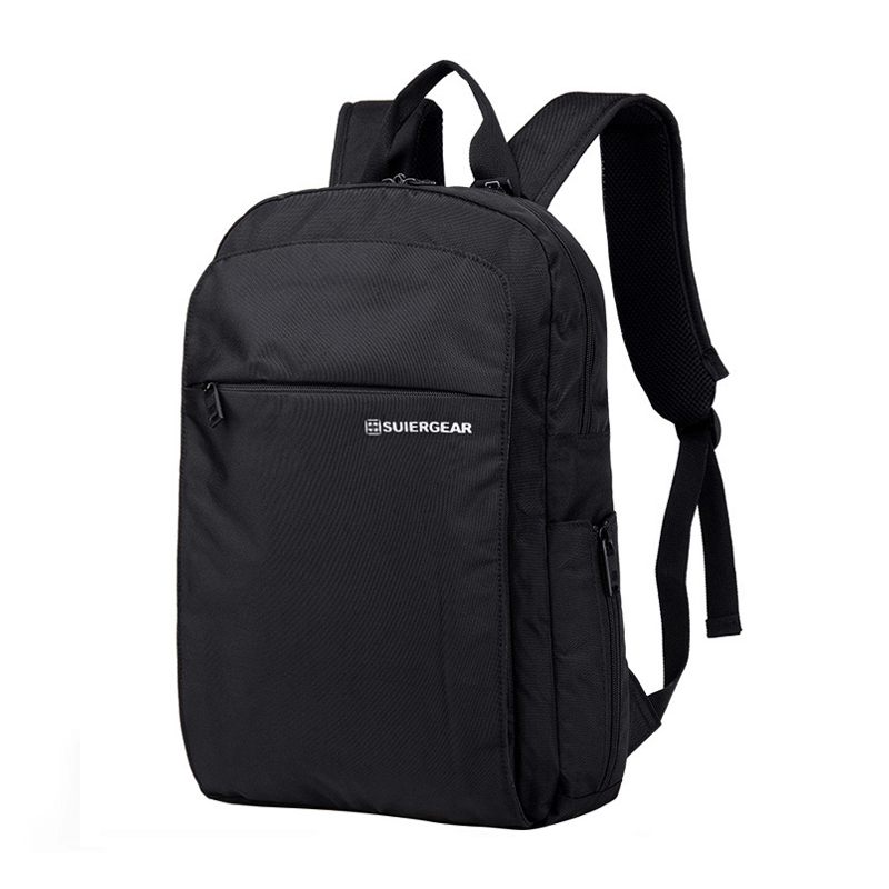 Swiss saber backpack for men and women business simple 15 inch computer bag multifunctional leisure travel bag schoolbag