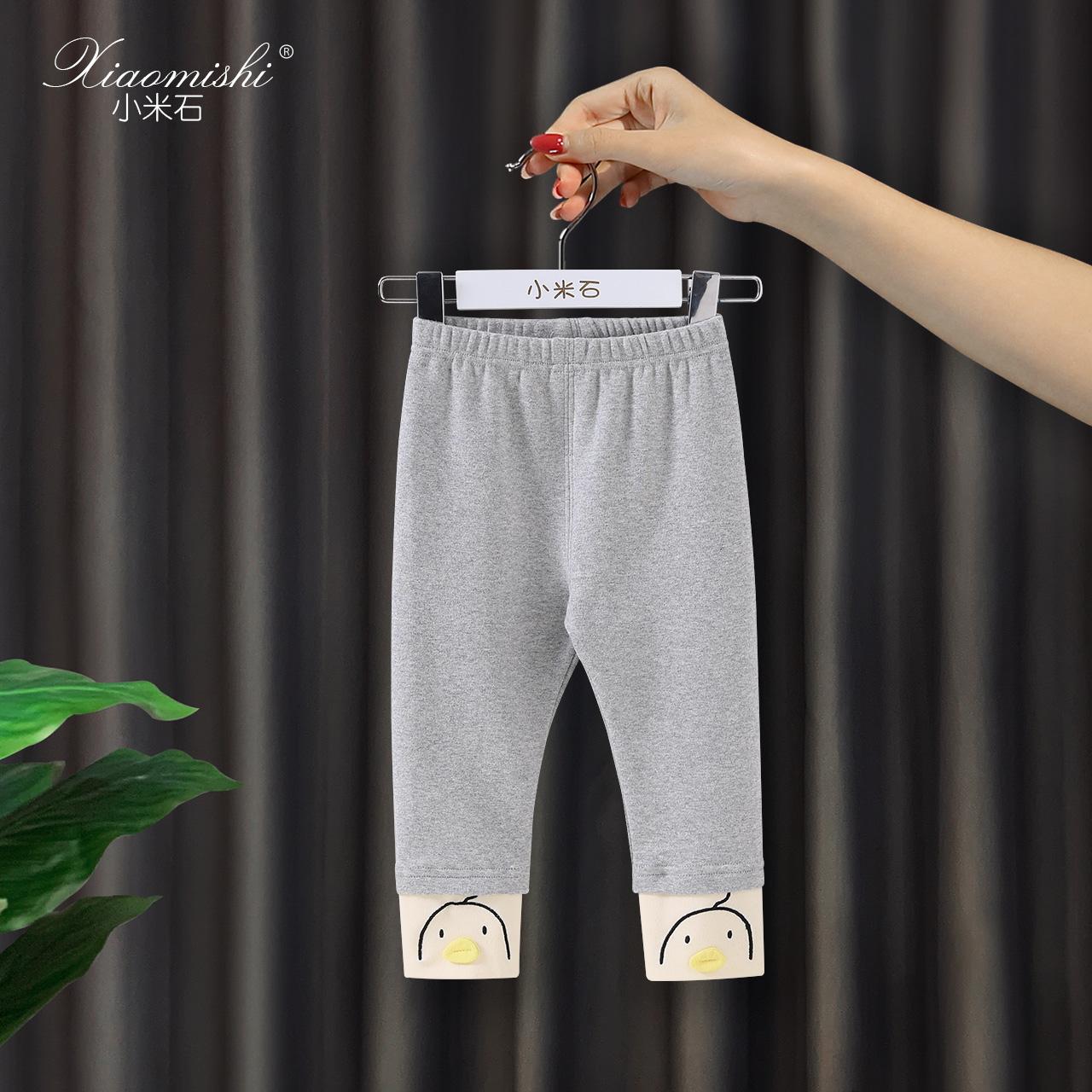 女宝宝打底裤春秋薄款外穿秋装长裤1一3岁2纯棉0儿童女童秋季裤子