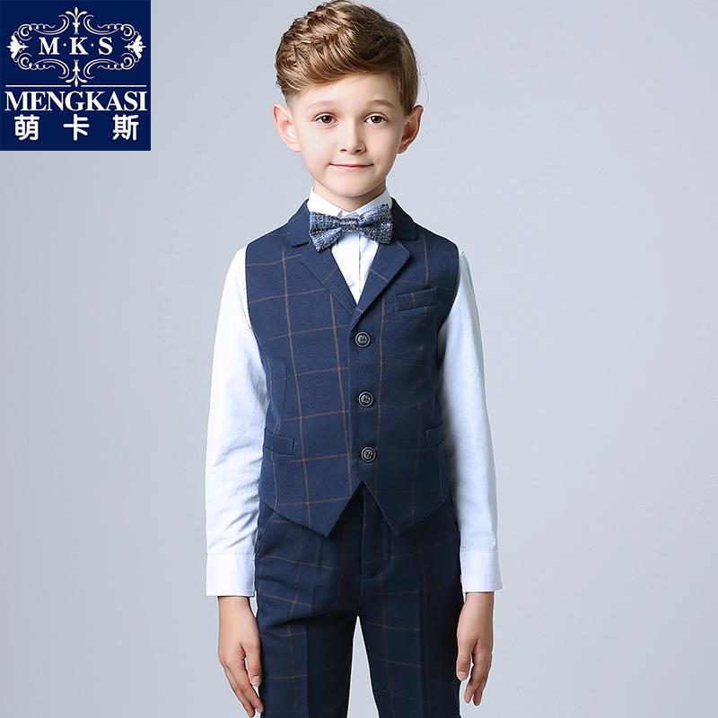 Ребенок платья модель переходный мостик установите свадьба ребенок цветок ребенок пианино производительность одежда мальчиков производительность одежда осенью и зимой