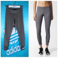 adidas stella 女子运动健身训练跑步紧身裤 舒适健身裤 S99061