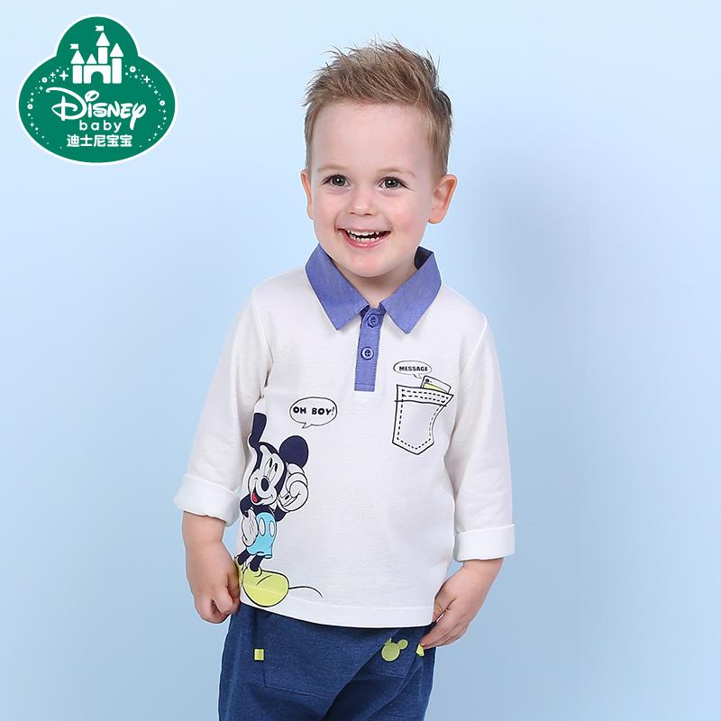 男童兒童圓領純棉polo衫