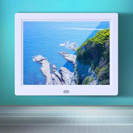 内置锂电池LED8寸数码相框高清视频8寸电子相册1024**768图片